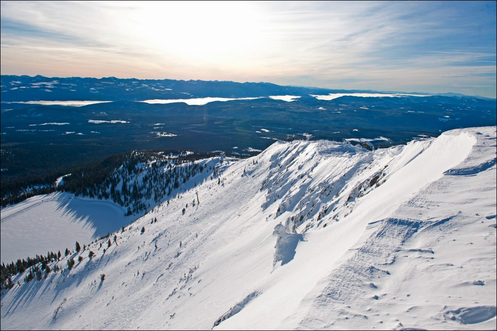 According to CNN, Big White's Cliff Run is one of the best ski runs IN THE WORLD!