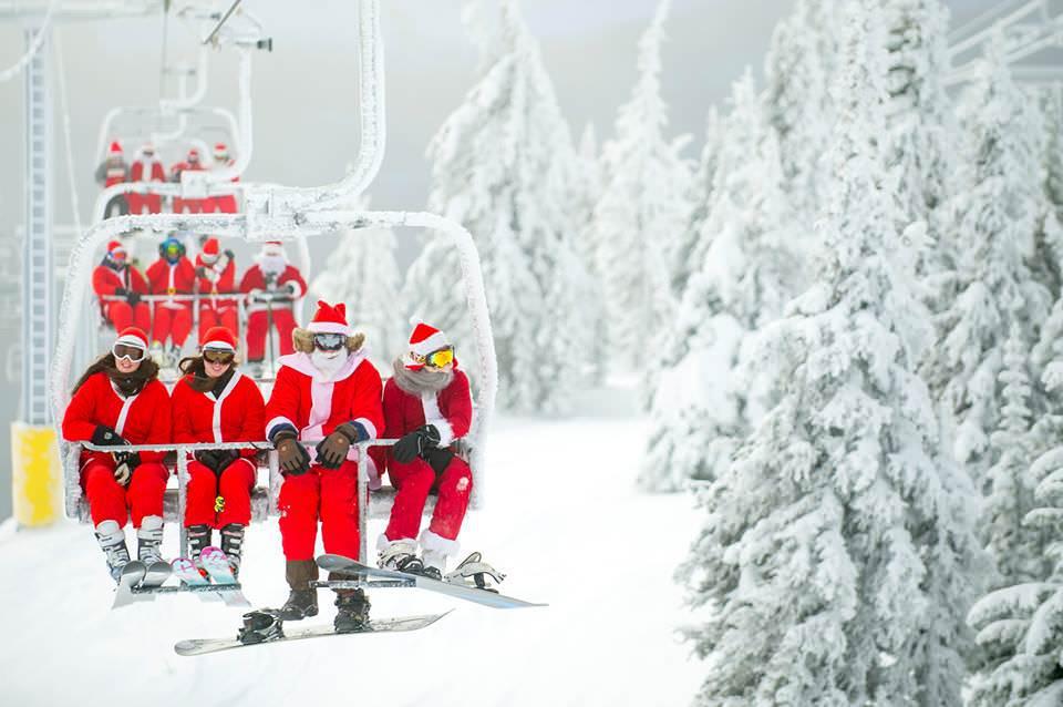 Santa 1 - Crescendo at Big White